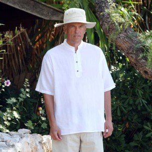 Mao collar kaftan - MEN - Tortue de Mer