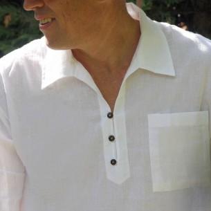 Classic collar men shirt
