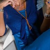 Bolero bleu foncé