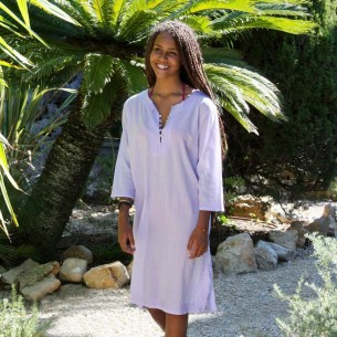 Teen beach summer kaftan lavander