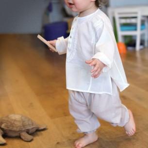 Sarouel bébé beige