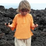 Tunique enfant orange