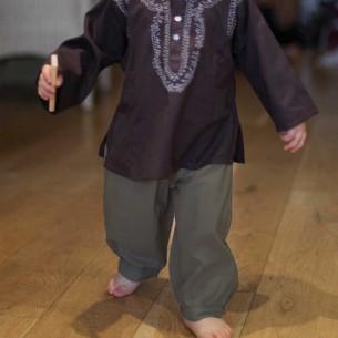 pantalon bébé garçon kaki