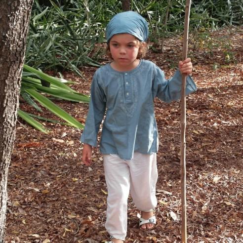 Pantalon coton pour enfant - ENFANTS ET ADOS - Tortue de Mer