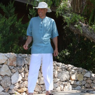 Men summer trousers - MEN - Tortue de Mer